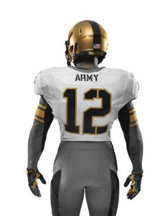 f77ead3a693 The back of Army s uniform for the Army-Navy Game presented by USAA. NIKE  footwear © 2013 jim golden all rights reserved