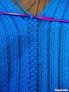 Stricken Fügetechniken «Handgemachter Markt, Stricken It is possible to find more motifs in crochet knitting technique. Booties, cardigans, vests, and even blankets can be made using these motifs… Knitting Stiches, Knitting Patterns Free, Knit Patterns, Free Knitting, Crochet Stitches, Baby Knitting, Stitch Patterns, Knit Crochet, Knitting Machine