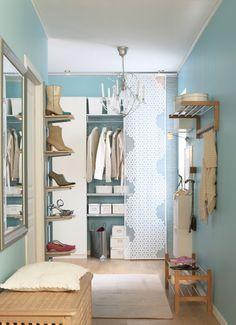 Inspiratie hal Ikea # mooi met paneelgordijnen