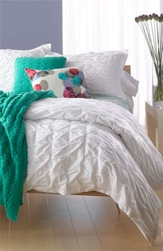 Nordstrom Box Pleat Collection for the home | #Nordstrom