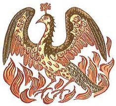 Bird Phoenix - Symbol of Resurrection Symbols, Mythical Creatures, Phoenix Bird, Phoenix Art, Mythical Birds, Art, Mythology, Christian Symbols, Bird Art