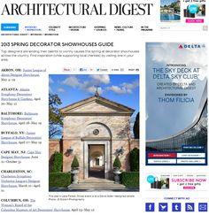 Atlanta Symphony Orchestra Decorators Show House & Gardens | Architectural Digest, April 2013