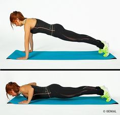 4 Weeks 10 Minutes a Day and Lose your Maximum Weight with this Workout Plan - Beauty&fitness with A. Fitness Workouts, Easy Workouts, At Home Workouts, Fitness Tips, Health Fitness, Core Muscles, Back Muscles, Improve Posture, Abdominal Muscles
