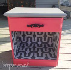 $8 Night Stand Table ‹ BrepurposedBrepurposed