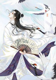 High-rated fantasy books on Fantasy Art Men, Beautiful Fantasy Art, Anime Fantasy, Fantasy Books, Chinese Drawings, China Art, Handsome Anime, Human Art, Boy Art