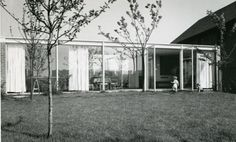House Böhm (1954-55) in Cologne, Germany, by Gottfried Böhm