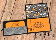 Halloween Projects for Break Out Class at Cozy Craft Retreat – PDF For Sale (or FREE with qualifying order!) gift cards Halloween Projects for Break Out Class at Cozy Craft Retreat – PDF For Sale (or FREE with qualifying order! Gift Cards Money, Itunes Gift Cards, Free Gift Cards, Christmas Gift Card Holders, Gift Card Boxes, Christmas Cards, Card Making Tutorials, Making Ideas, Halloween Cards