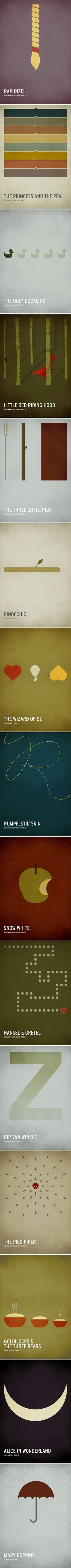 Minimalist Posters of Children's Books