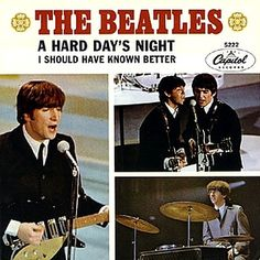 Beatles Vinyl record - A Hard Days Night.