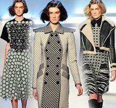 Rodarte Fall '12 - These fabrics are breathtaking.