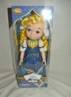 Disney Animators Collection Singing Doll It's a Small World Holland Toy Gift