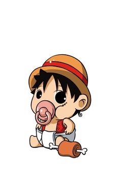 Baby Monkey D. Luffy - One Piece