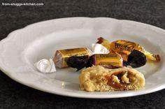 Kekse: from-snuggs-kitchen: Karamell-Haferflocken-Cookies