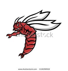 Mascot icon illustration of a Florida woods cockroach, Florida skunk roach, Florida stinkroach, skunk cockroach or palmetto bug pointing with wings flying on isolated background in retro style. Palmetto Bugs, Retro Illustration, Bugs And Insects, Retro Style, Retro Fashion, Woods, Royalty Free Stock Photos, Florida, Image