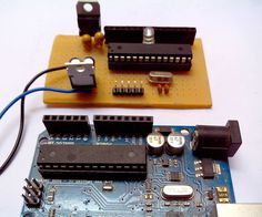 In this instructable I'm going to show you how to build an Arduino using an atmeg328 IC, I know that this sounds complicated but is quite easy to do. This project is if you need an arduino in your project but you don't want to use the arduino UNO or arduino nano. The atmega328 is the same IC you find in the arduino.I built this because I made an led cube (I'll post it up soon) and i did not want to seal my Uno in a box.