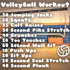 Volleyball Workout :heart: This is my edit! -Avery