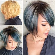 STYLIST FEATURE| Gorgeous #haircolor #transformation on this #bobcut✂️ done by #LosAngelesStylist @remierainbow @butterflyloftsalon So fly #VoiceOfHair ========================= Go to VoiceOfHair.com ========================= Find hairstyles and hair tips! =========================