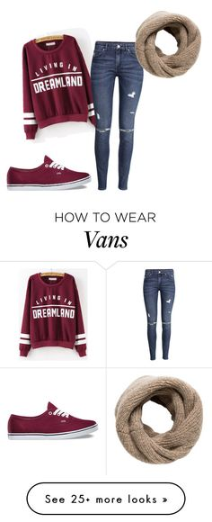 """october"" by louismakemesmile on Polyvore featuring H&M, Vans, MANGO, outfits, sweaterweather and october"