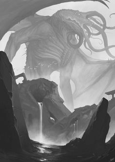 Lord Cthulhu comes                                                       …