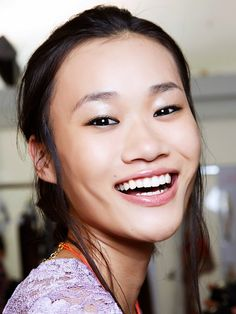 A brighter smile, just by eating. via @byrdiebeauty
