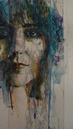 Grace Slick Art Print featuring the painting White Rabbit by Paul Lovering