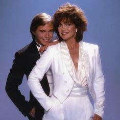 Peter Rochards and Sue Ellen #Dallas 1983