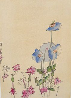 Charles Rennie Mackintosh; obsessing over this guys art nouveau style botanicals...