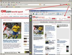 Browsing web page click on PDF button to receive PDF version of the page.
