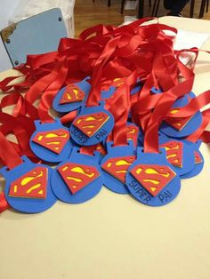 Medalhas para o dia dos Pais, em EVA.