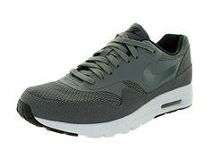 pretty nice 76ed0 8bf53 Amazon.com   Nike Women s Air Max 1 Ultra Essentials Dark Grey Drk  Gry Blk Pr Pltnm Running Shoe 6 Women US   Running