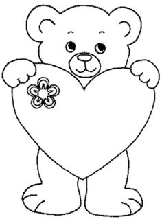 Home Decorating Style 2020 for Coloriage Ourson Mignon, you can see Coloriage Ourson Mignon and more pictures for Home Interior Designing 2020 at Coloriage Kids. Heart Coloring Pages, Colouring Pages, Coloring Pages For Kids, Coloring Books, Art Drawings Sketches, Easy Drawings, Valentines Day Coloring Page, Applique Patterns, Stone Painting