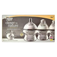 "Tommee Tippee 3-Pack Closer to Nature Bottle 5oz - Tommee Tippee - Babies ""R"" Us"