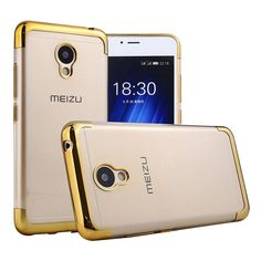 Case For Meizu M3S M3 S Mini Cover Luxury Two End Parts Plating Soft TPU Back Cover For Meizu M3S Mini Phone Bags & Cases #clothing,#shoes,#jewelry,#women,#men,#hats,#watches,#belts,#fashion,#style