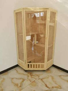 Cat cage with toilet one solid wood cat villa apartment small cat nest multi-storey luxury cat cabinet wooden cat house home Cat Apartment, Wooden Cat House, Cat Kennel, How To Varnish Wood, Cat Hotel, Cat Cages, Wood Cat, Cat Enclosure, Cat Room