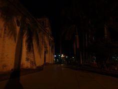 El Parque de la Iglesia. Foto nocturna