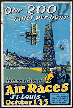 Air Races Show Poster #typehunter