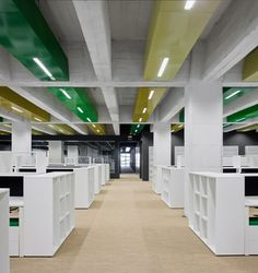 Office Layout - by ACXT Arquitectos