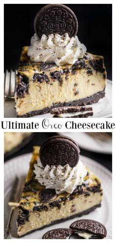 Oreo Cheesecake Recipes, Cookies And Cream Cheesecake, Dessert Recipes, Turtle Cheesecake, Homemade Cheesecake, Classic Cheesecake, Raspberry Cheesecake, Pumpkin Cheesecake, Oreo Desserts