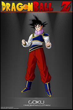 Dragon Ball Z - Goku - YC by DBCProject on DeviantArt