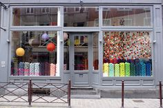 lille lumieres by wood & wool stool, via Flickr