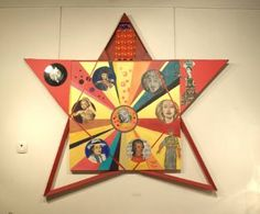 """Saatchi Art is pleased to offer the Art Print, """"The star of glory,"""" by Kiril Katsarov. Size is undefined H x undefined W in. New Art, Saatchi Art, Art Projects, My Arts, Collage, Art Prints, Stars, Canvas, Artist"""