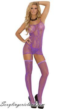 EM-1556 Fishnet lingerie set