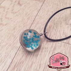 Pendiente Blue Dandelion Ladybug, Bugs, Choker Necklaces, Chokers, Ear Jewelry, Lady Bug, Ladybugs, Beetles, Beetle