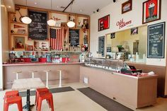 Many of the quirky elements at OddFellows Ice Cream Co. in Brooklyn—the handiwork of chef Sam Mason ... - Photo: Courtesy OddFellows Ice Cream Co.