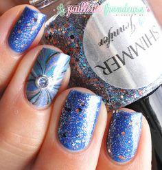 Shimmer polish Jennifer // Glitter jewel