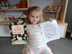ABC Bunny BFIAR - Homeschool Creations has printables
