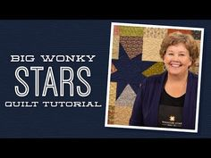 Big Wonky Star Quilt Pattern Try it with all similar color layer cake in blue/green/purple and bright yellow stars! by Missouri Star - Missouri Star Quilt Co. - Missouri Star Quilt Co. - Finished size: x 66 for Squares. From Missouri Star Quilt Company Layer Cake Quilt Patterns, Layer Cake Quilts, Star Quilt Patterns, Patchwork Patterns, Layer Cakes, Block Patterns, Jenny Doan Tutorials, Msqc Tutorials, Quilting Tutorials