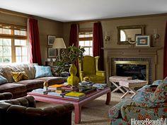 Design Around the Fireplace