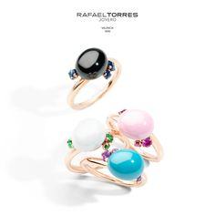 162899127092 Da un toque de color a tu vestuario con los animados anillos de Pomellato  y