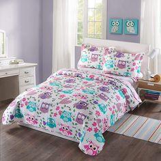 Coverlet Bedding, Comforter Sets, Owl Bedding, Toddler Comforter, King Comforter, Teen Boy Bedding, Teen Girl Bedspreads, Teen Bedroom, Bedroom Decor
